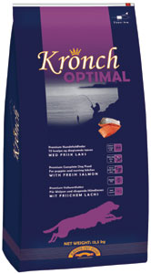 Kronch Optimal premium highest quality dog food